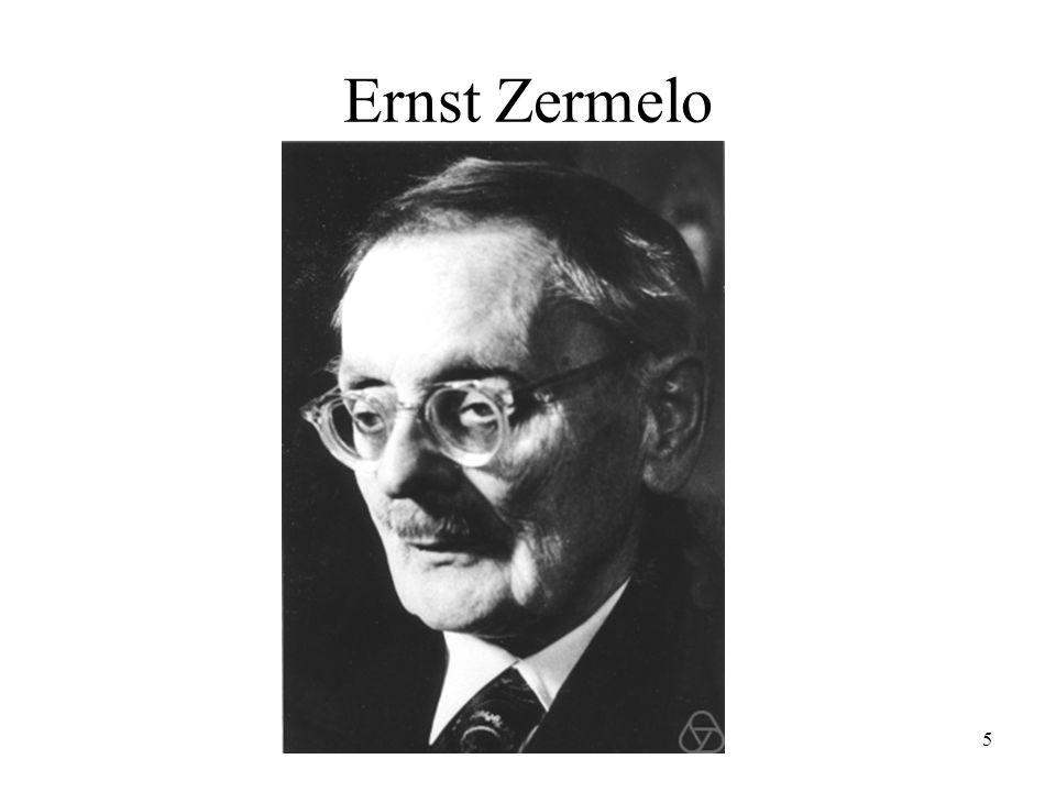 5 Ernst Zermelo