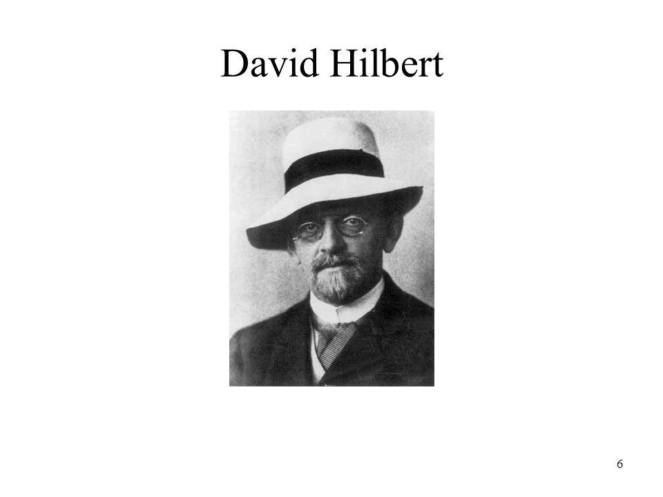6 David Hilbert