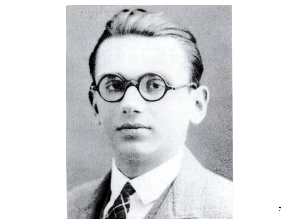 7 Kurt Godel