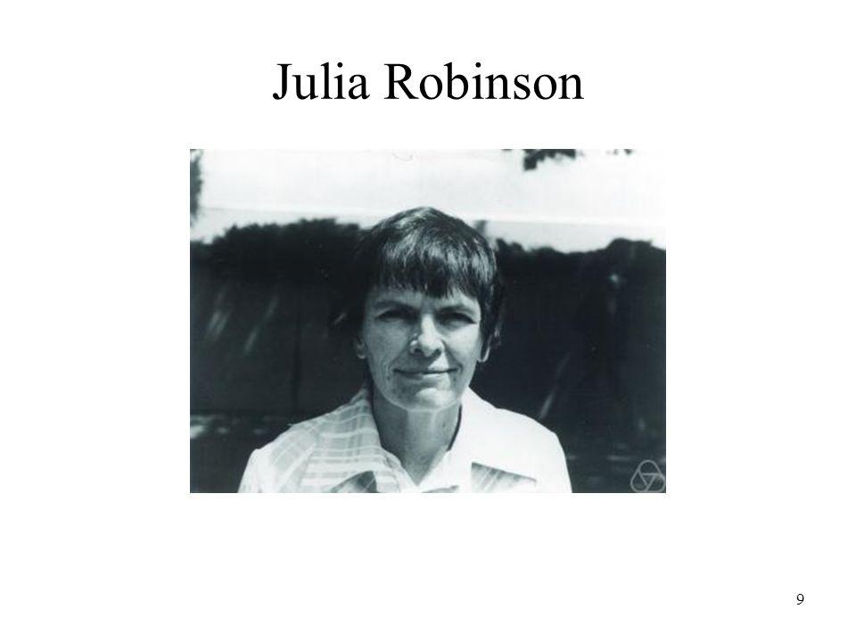 9 Julia Robinson