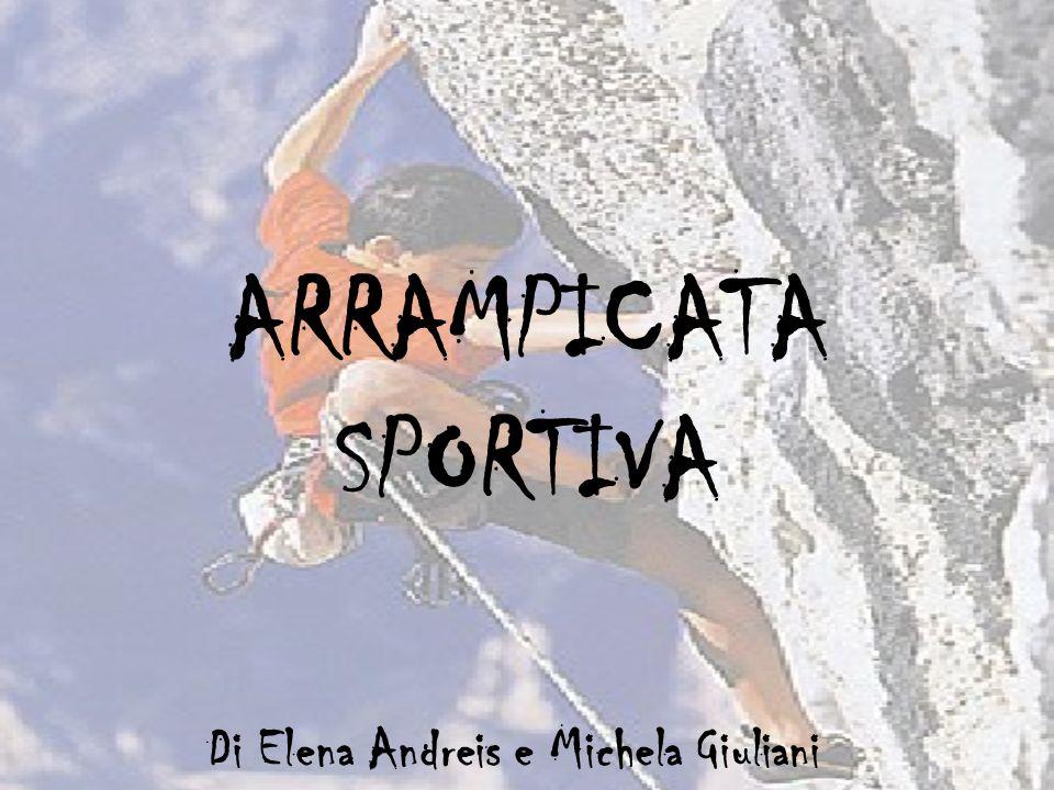 ARRAMPICATA SPORTIVA Di Elena Andreis e Michela Giuliani