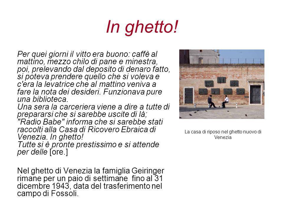 In ghetto.