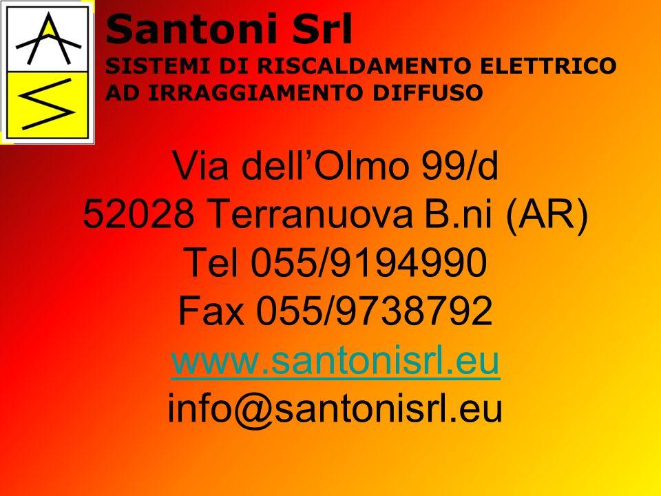 Via dellOlmo 99/d 52028 Terranuova B.ni (AR) Tel 055/9194990 Fax 055/9738792 www.santonisrl.eu info@santonisrl.eu www.santonisrl.eu Santoni Srl SISTEM