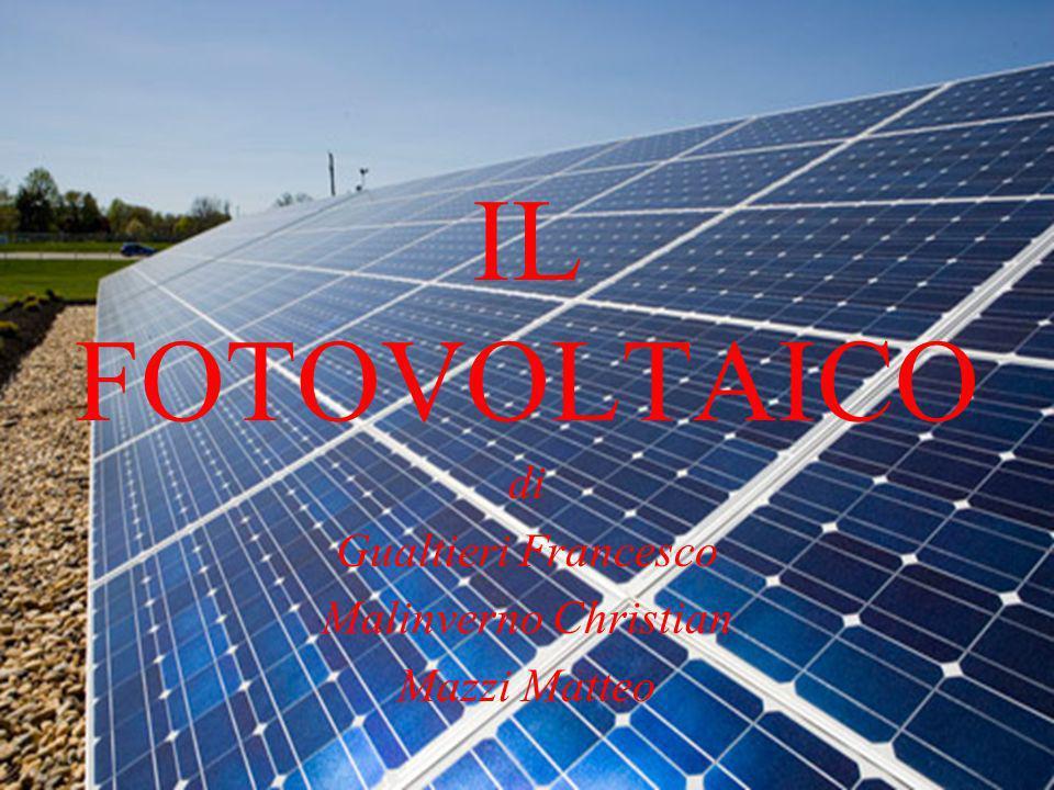 Cosè il fotovoltaico.