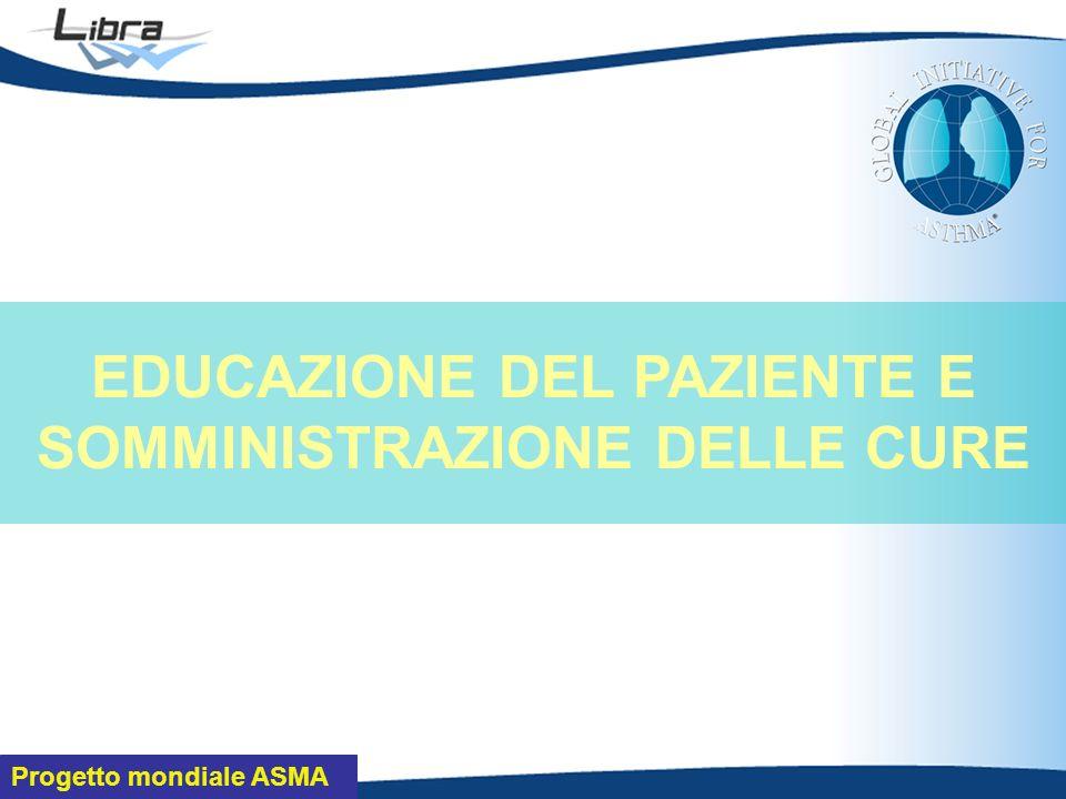 Progetto mondiale ASMA EDUCAZIONE DEL PAZIENTE E SOMMINISTRAZIONE DELLE CURE