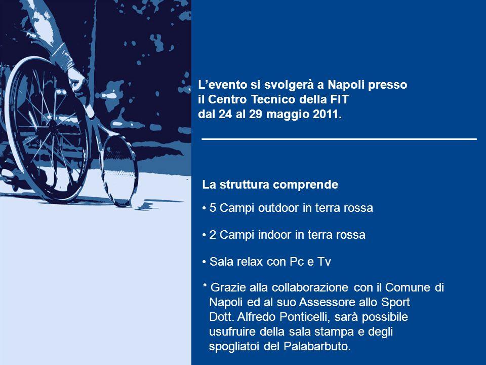 In Italia vi sono numerose associazioni, localizzate quasi esclusivamente al centro- nord, che promuovono il tennis in carrozzina. In Campania questa