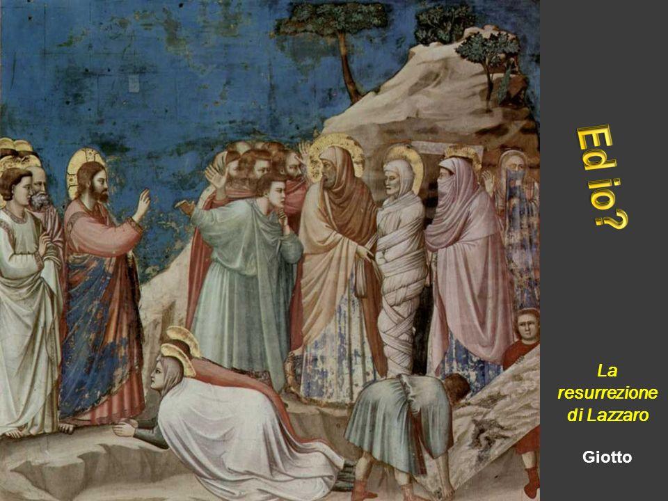 La resurrezione di Lazzaro Giotto
