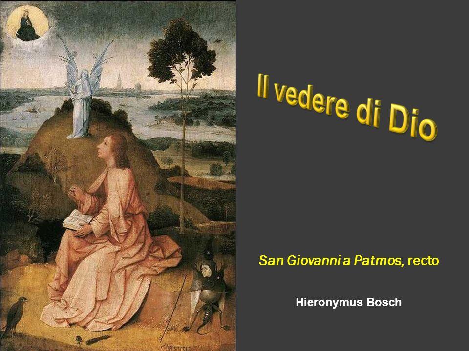 San Giovanni a Patmos, recto Hieronymus Bosch
