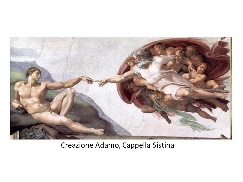 Creazione Adamo, Cappella Sistina