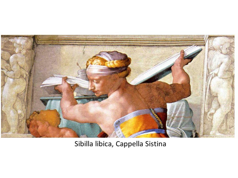 Sibilla libica, Cappella Sistina