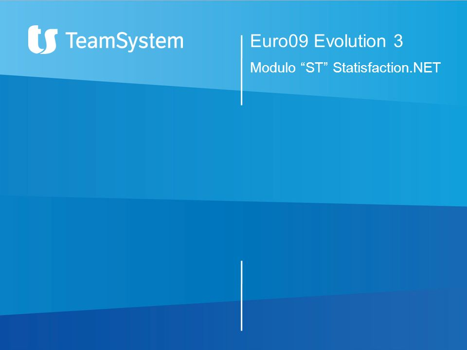 Euro09 Evolution 3 Modulo ST Statisfaction.NET