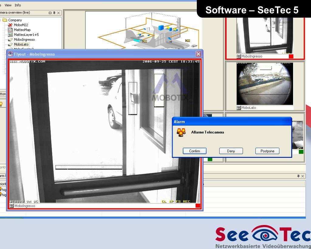 SeeTec segnala a video levento… L interfaccia utente del software SeeTec 5 Software – SeeTec 5