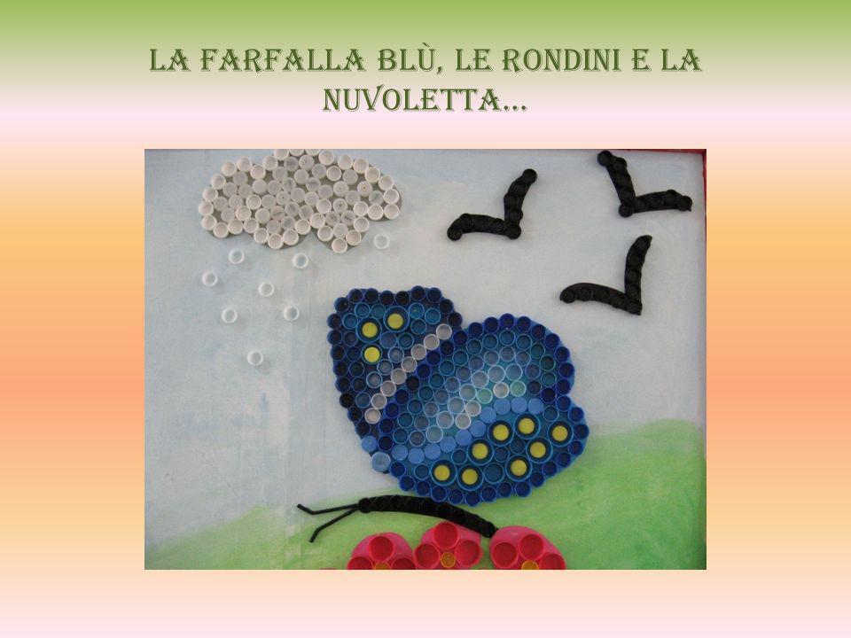 La farfalla blù, le rondini e la nuvoletta…