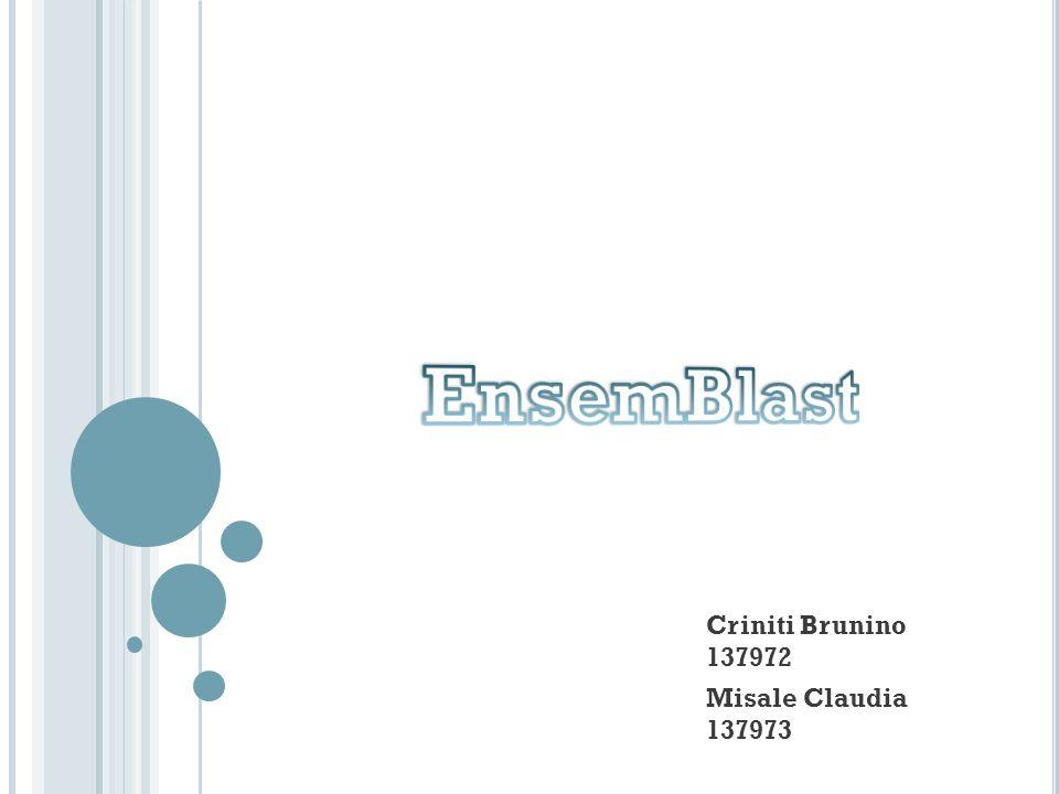 Criniti Brunino 137972 Misale Claudia 137973