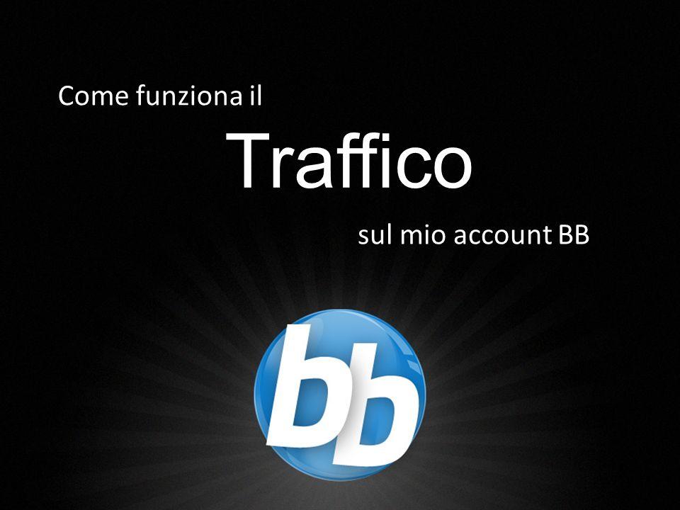 2 Traffico Come funziona il sul mio account BB