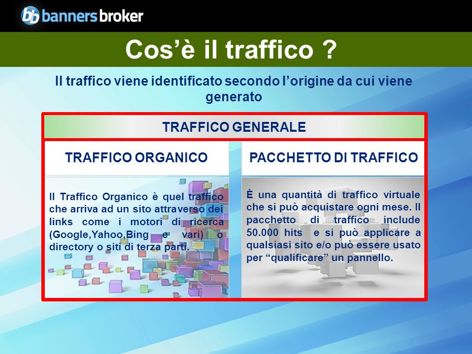 Copyright © BannersBroker. All rights reserved. 4 Cosè il traffico .