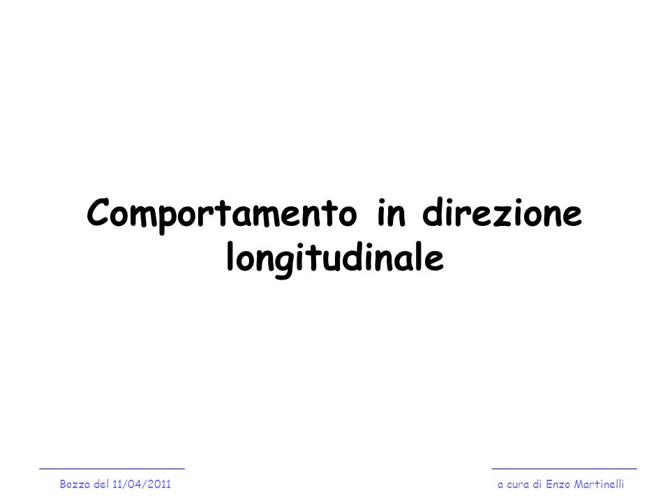 Controvento Verticale a cura di Enzo MartinelliBozza del 11/04/2011 Progetto/Verifica della diagonale del controvento Profili usualmente impiegati: - Profili ad L non accoppiati; - Piatti; - Tondini.