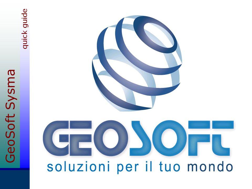 GeoSoft Sysma quick guide