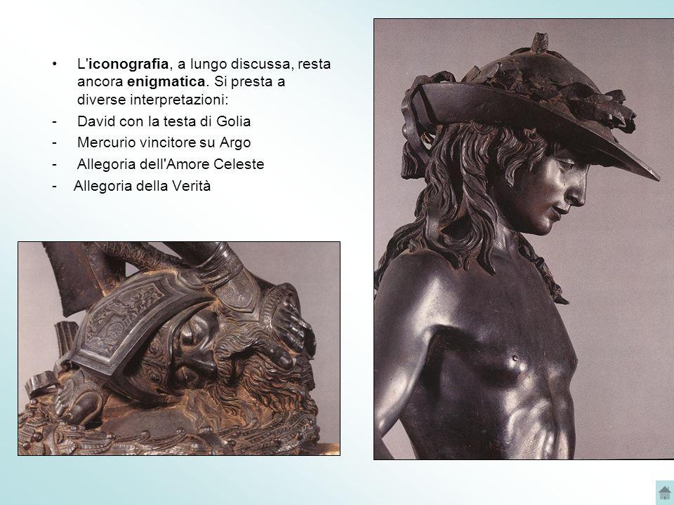 BANCHETTO DI ERODE Si tratta di formella in bronzo dorato.