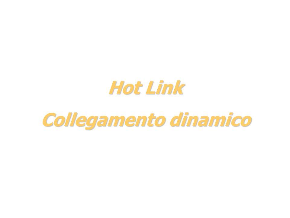 Hot Link Collegamento dinamico