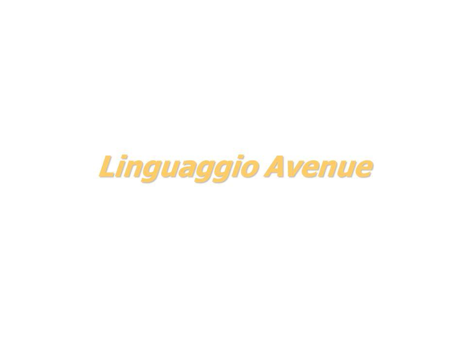 Linguaggio Avenue