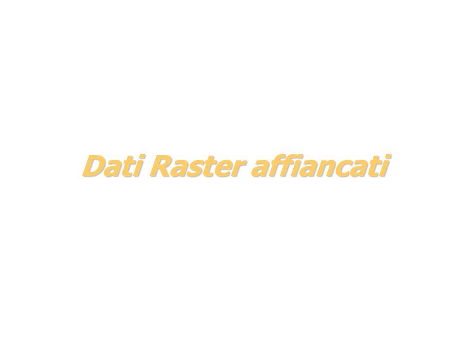 Dati Raster affiancati