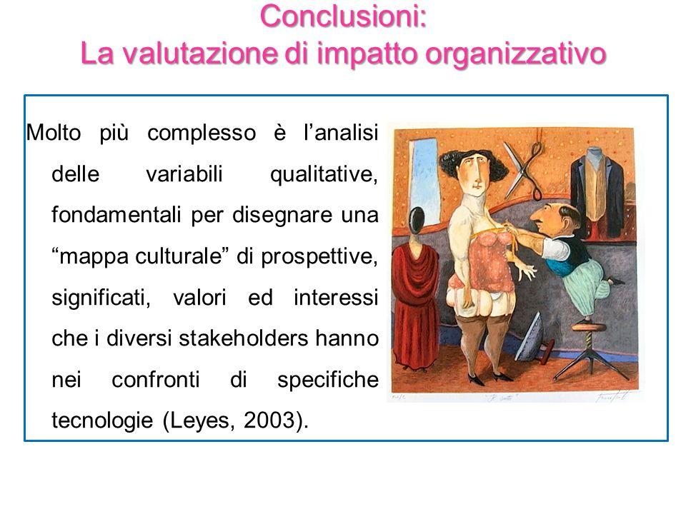 Molto più complesso è lanalisi delle variabili qualitative, fondamentali per disegnare una mappa culturale di prospettive, significati, valori ed inte