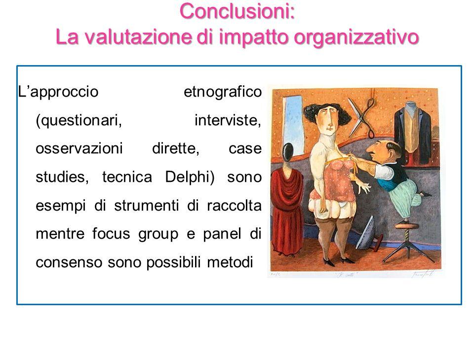 Lapproccio etnografico (questionari, interviste, osservazioni dirette, case studies, tecnica Delphi) sono esempi di strumenti di raccolta mentre focus