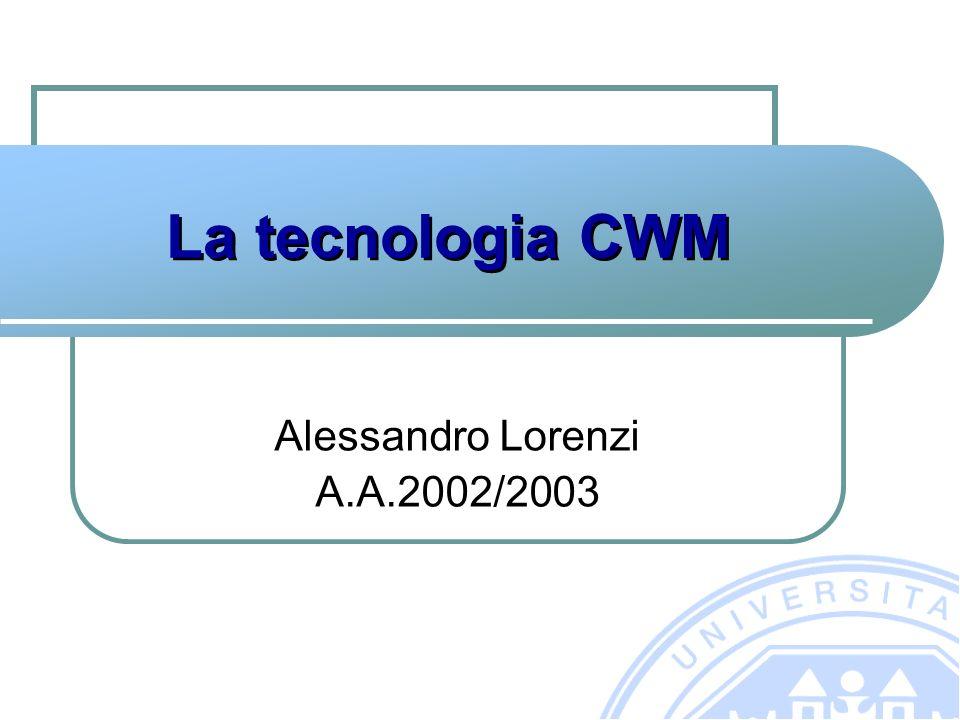 La tecnologia CWM Alessandro Lorenzi A.A.2002/2003