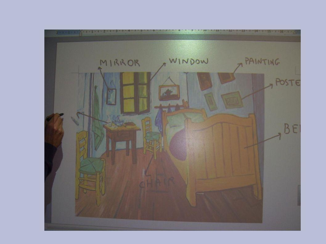 ESEMPIO: come interagire con l immagine Le immagini sono per il docente uno dei supporti più classici per strutturare varie tipologie di attività, incentrate su aspetti comunicativi o grammaticali o lessicali.
