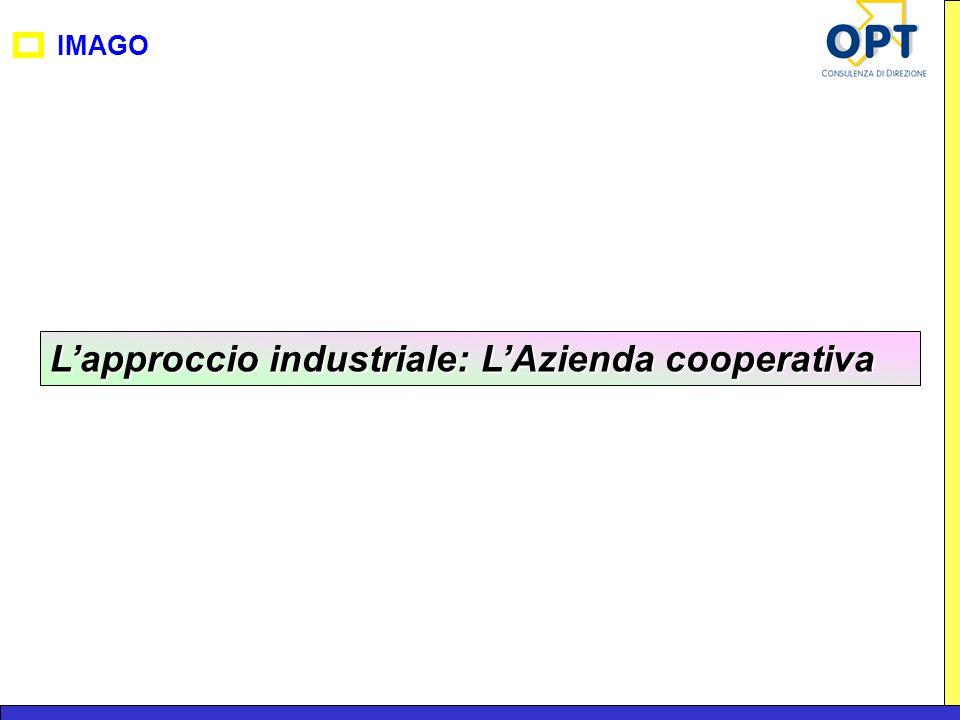 IMAGO Lapproccio industriale: LAzienda cooperativa