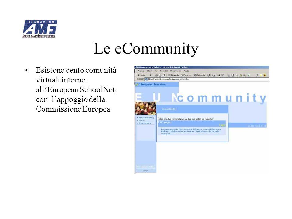 La eCommunity ESIC La nostra comunità di lavoro per promuovere i gemellaggi è piena di messaggi di alunni e professori.
