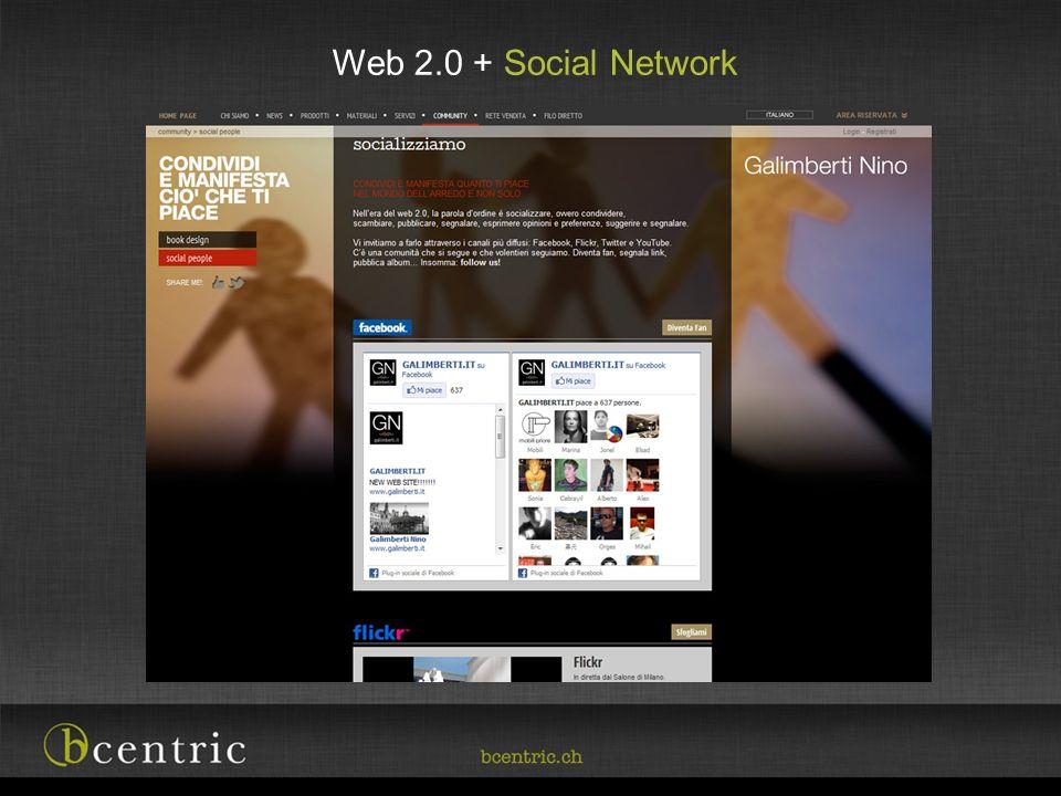 Web 2.0 + Social Network