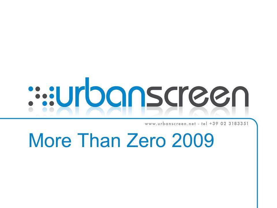 More Than Zero 2009