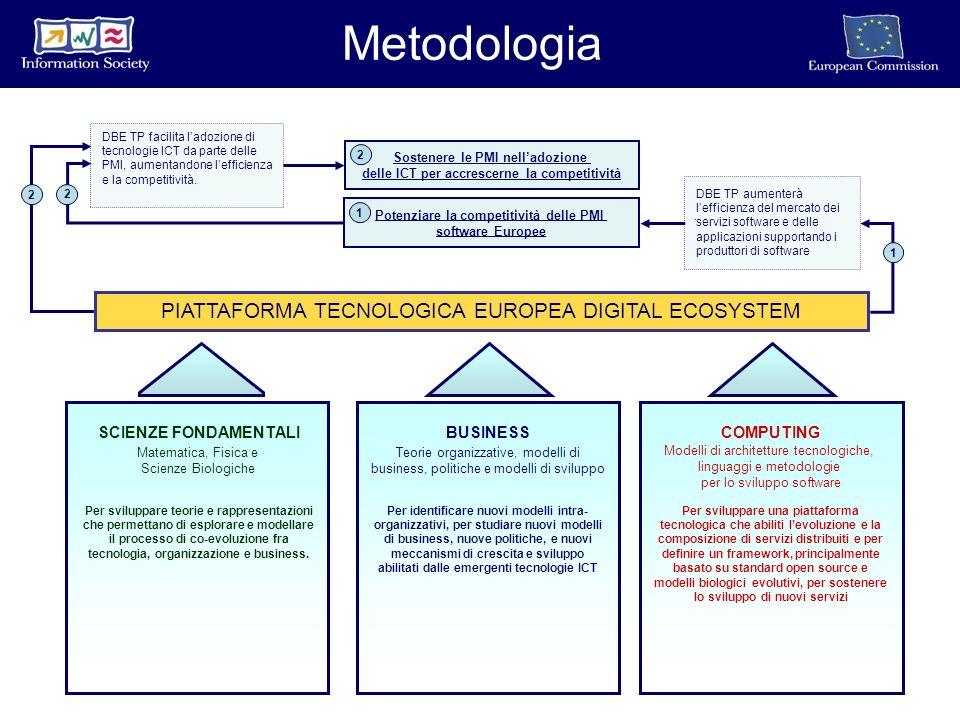 Per identificare nuovi modelli intra- organizzativi, per studiare nuovi modelli di business, nuove politiche, e nuovi meccanismi di crescita e sviluppo abilitati dalle emergenti tecnologie ICT Per sviluppare teorie e rappresentazioni che permettano di esplorare e modellare il processo di co-evoluzione fra tecnologia, organizzazione e business.