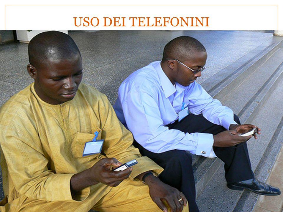 USO DEI TELEFONINI