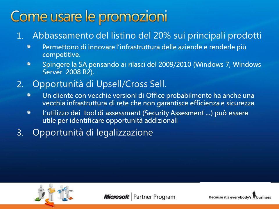 15 luca.DeAngelis@microsoft.com 1. Abbassamento del listino del 20% sui principali prodotti Permettono di innovare linfrastruttura delle aziende e ren