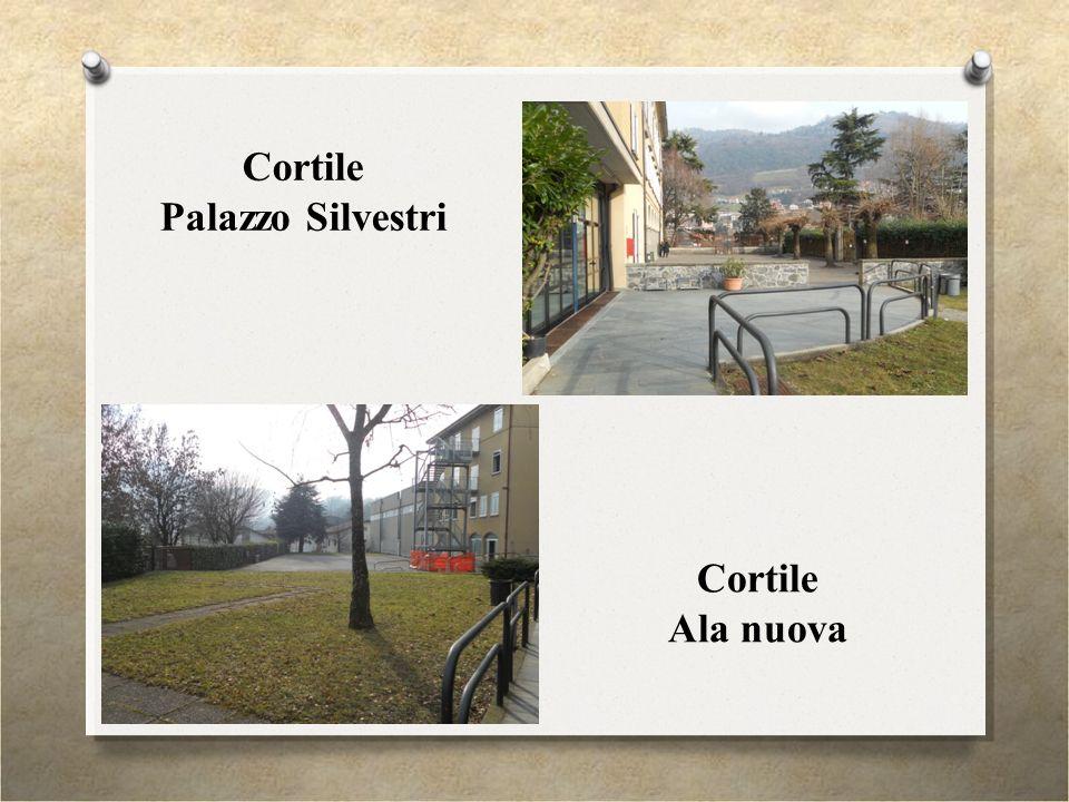 Cortile Palazzo Silvestri Cortile Ala nuova