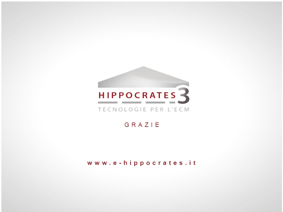 GRAZIE www.e-hippocrates.it