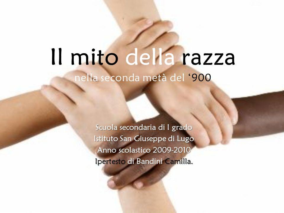 Scuola secondaria di I grado Istituto San Giuseppe di Lugo Anno scolastico 2009-2010 Ipertesto di Bandini Camilla.