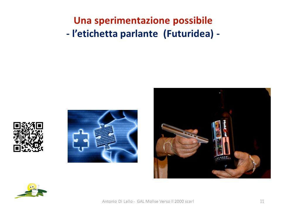 Una sperimentazione possibile - letichetta parlante (Futuridea) - Antonio Di Lallo - GAL Molise Verso il 2000 scarl11