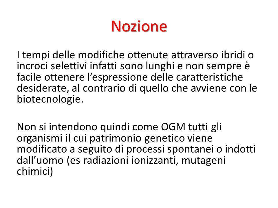 Normativa Italiana Aprile 2013: L Italia ha chiesto alla Commissione europea la sospensione d urgenza per il mais geneticamente modificato della Monsanto Mon810 in Italia e nel resto dell Ue.