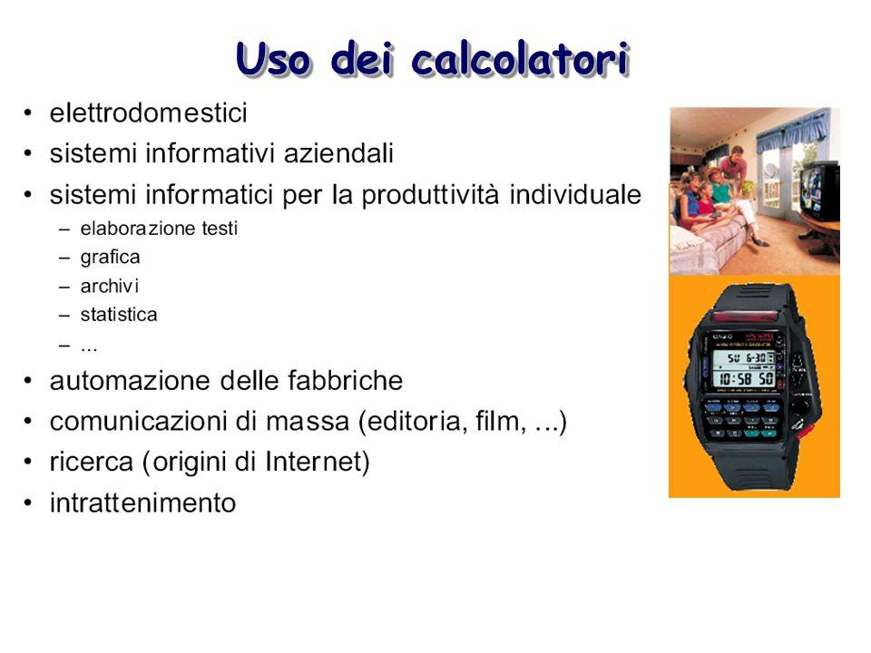 Uso dei calcolatori