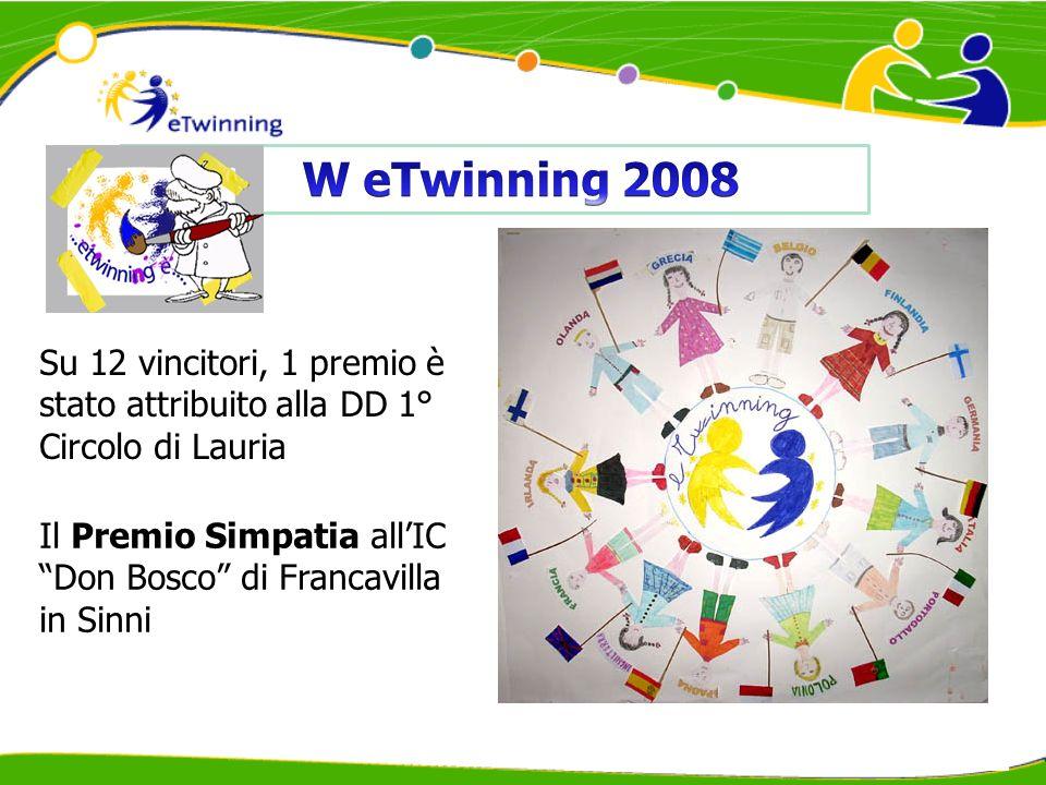 Su 6 vincitori, 1 premio è stato attribuito alla DD 1° Circolo di Lauria La DD 1° Circolo di Lauria è risultata vincitrice per la categoria Scuola primaria, ex aequo con altre due scuole