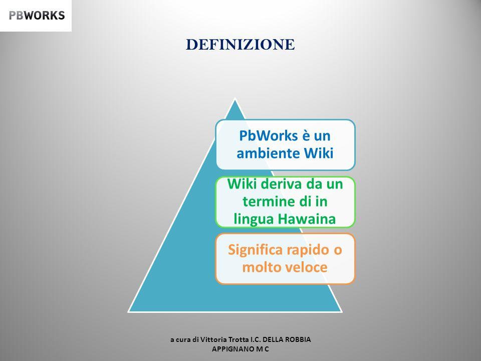 Apprendimento e scrittura collaborativa on-line: unesperienza di E-learning My Pbworks I.C. Luca della Robbia Appignano (M C) Scuola secondaria di I g