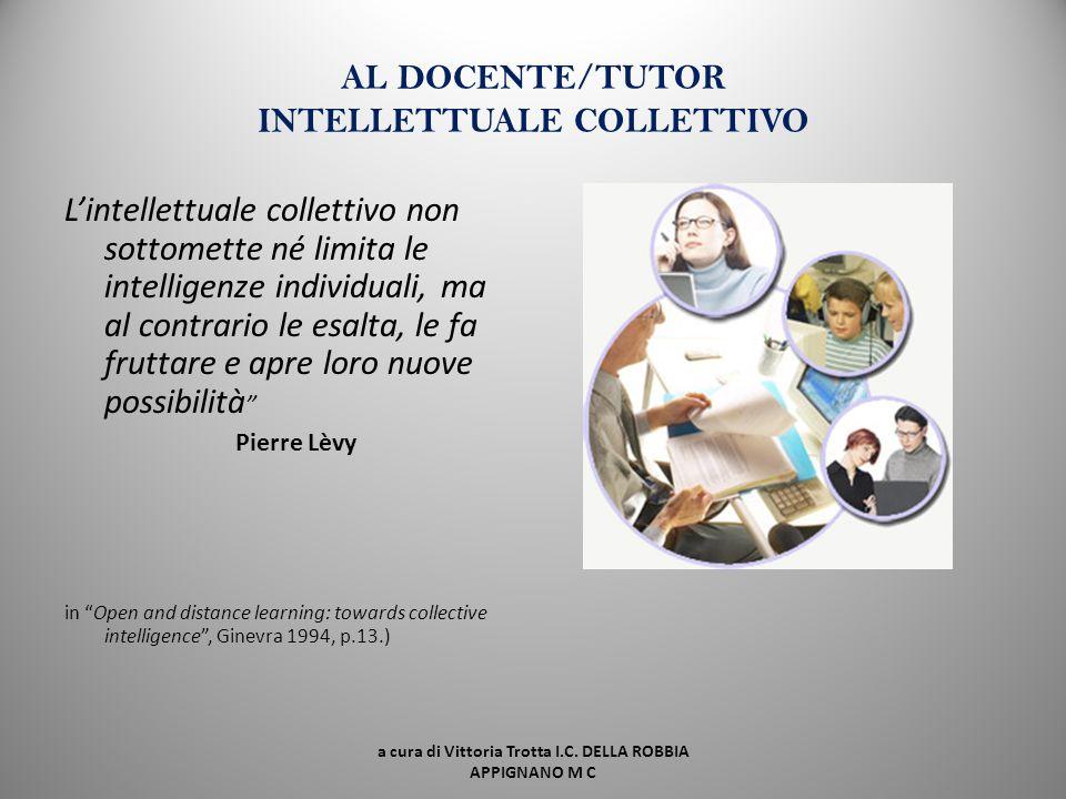 AGLI INSEGNANTI insegnante come professionista riflessivo; ll pensiero degli insegnanti. Connettere conoscenza formale e informale; lavorare su nuove