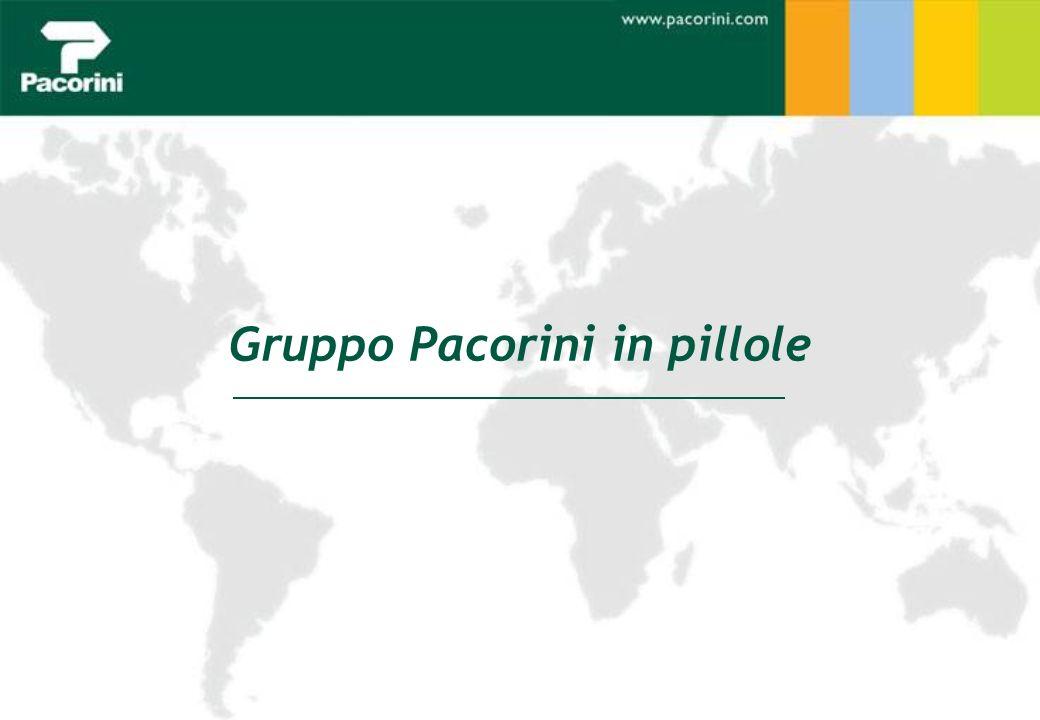Copyright 2010 Gruppo Pacorini Page 4/36 La Storia Il Gruppo Pacorini è una realtà internazionale specializzata nella movimentazione, nello stoccaggio e nel trasporto delle principali commodity.