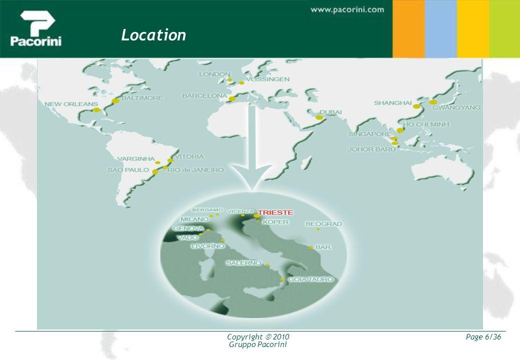 Copyright 2010 Gruppo Pacorini Page 17/36 Strategia 2 ALTERNATIVE: ACQUISTO LICENZA Abbiamo capacità di storage sufficiente.