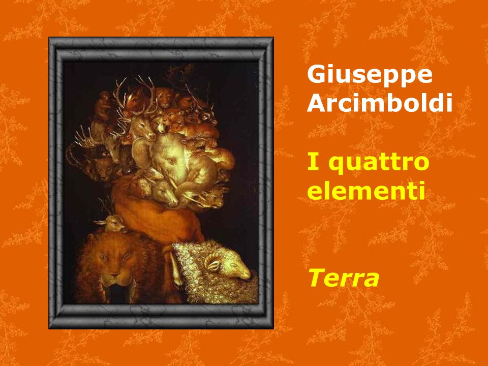 Giuseppe Arcimboldi I quattro elementi Terra