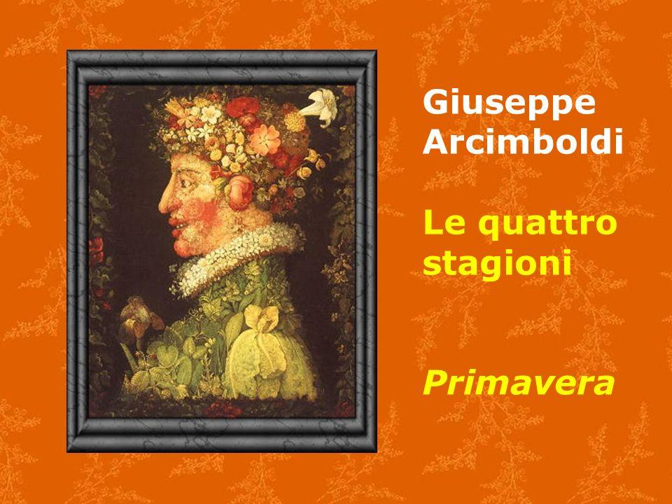 Giuseppe Arcimboldi Le quattro stagioni Primavera